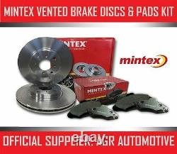 MINTEX REAR DISCS AND PADS 330mm FOR AUDI A6 QUATTRO 3.0 TD 211 BHP 2004-11