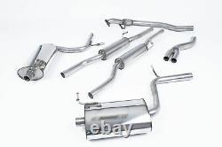 Milltek Audi A4 1.8T B6 Quattro 163BHP 5 Speed Cat Back Exhaust 01-05 SSXAU033