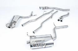 Milltek Audi A4 1.8T B6 Quattro 190BHP 6 Speed Cat Back Exhaust 03-05 SSXAU307