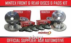 Mintex Front + Rear Discs And Pads For Audi A3 Quattro 8p 2.0 Td 170 Bhp 2006-13