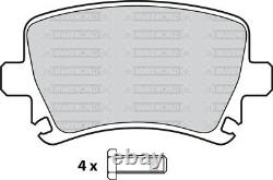Oem Spec Front + Rear Discs And Pads For Audi A6 Quattro 2.7 Td 163 Bhp 2004-11