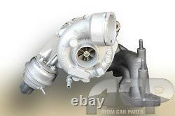Turbocharger 757042 for Volkswagen Golf, Jetta, Passat, Touran. 170 BHP, 125 kW